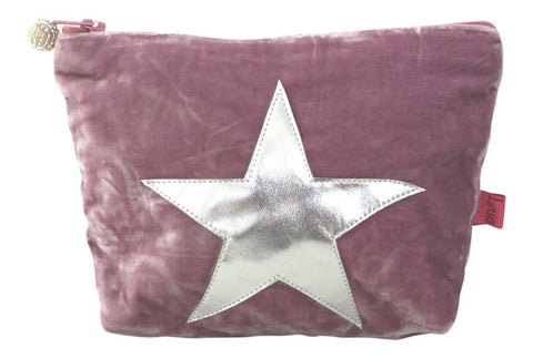 Velvet Star Cosmetic Bag (Large)
