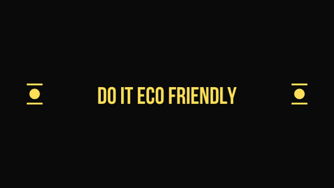 eco friendly headline