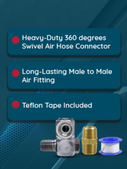 Air Hose Connector Set (AI-112)
