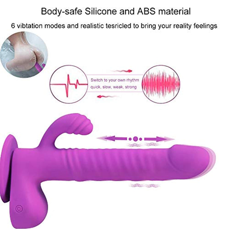 G spot Rabbit Dildo Vibrators - Adult Toys