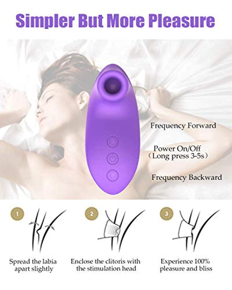 Clitoral Breast Sucking Vibrator Stimulation Couples Adult Toy - Adult Toys