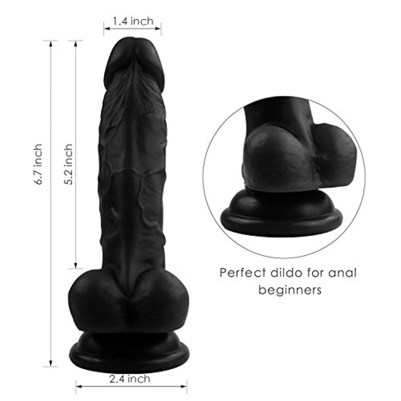 Realistic Ultra-Soft Dildo Women Sex Toy Large Dildo - Adult Toys