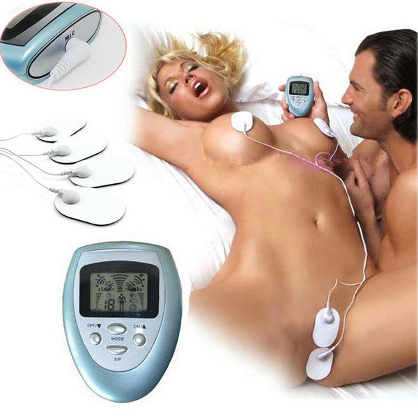 Pulse Electric Shock Patch Breast Clitoris Stimulation Massager - Adult Toys