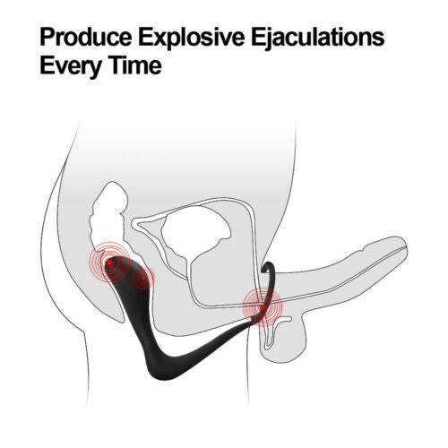 Silicone Anus Expander G-spot Massaging Butt Plug For Gay - Adult Toys