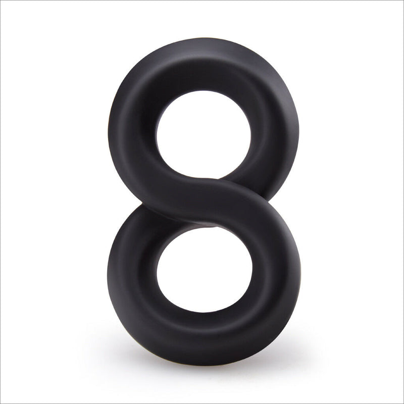 Silicone Double Penis Rings For Men Harder Ejaculation Adult Sex Toy - Adult Toys