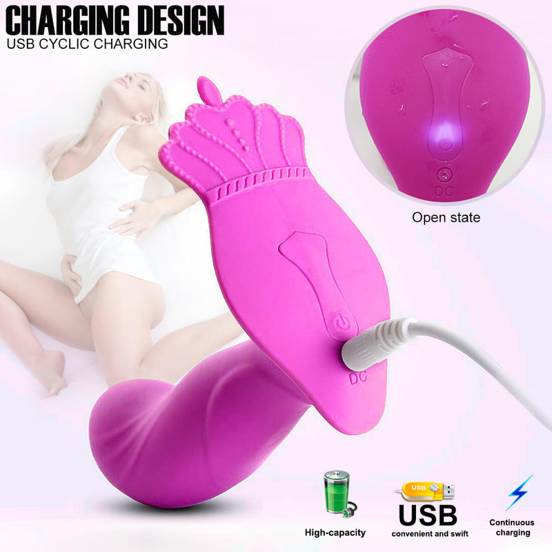 Multi-frequency Remote Control Vibrator Waterproof Anal Plug For Adult - Adult Toys