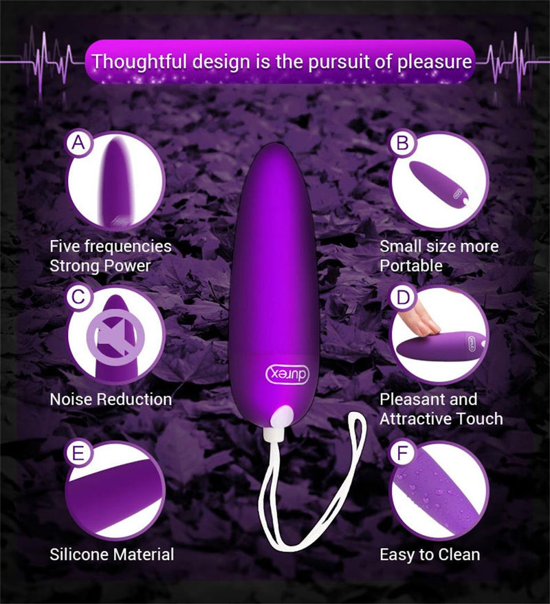 Durex S-VIBE Bullet Wireless Vibration Jump Egg For Women - Adult Toys