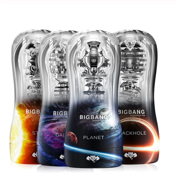BIGBANG Male Masturbator Transparent Soft Endurance Exercise Sex Toy - Adult Toy