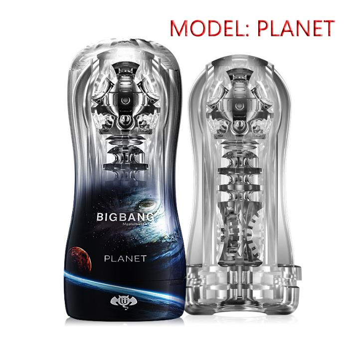 BIGBANG Male Masturbator Transparent Soft Endurance Exercise Sex Toy - Adult Toys