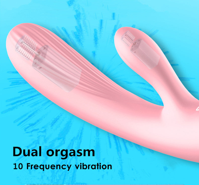 10 Speeds G Spot Dildo Anal Clit Vibrator - Adult Toys