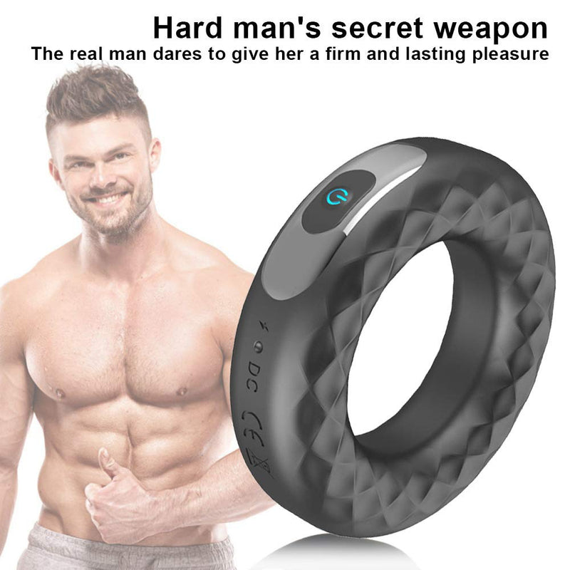 Remote Control Vibrating Penis Ring Trainer For Men - Adult Toys