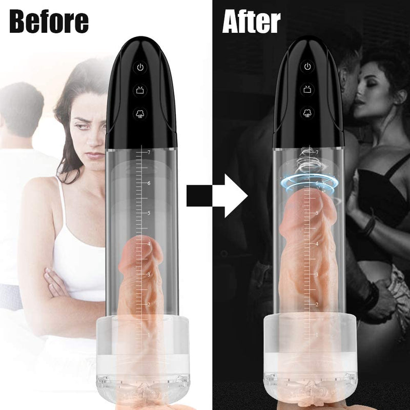 2 in 1 Vacuum Pump For Penis Stimulation Enhancement Training