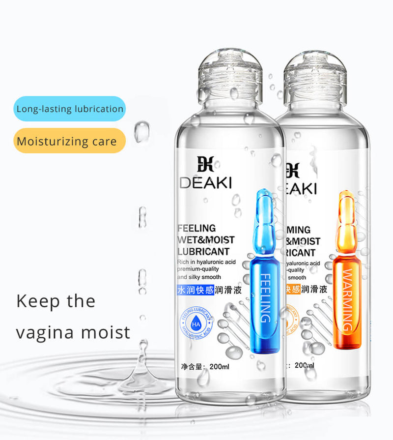 200ml Water Based Free-Clean Lubricant For Men Women Sex