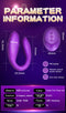 Wearable Wireless Vibrator Dildo G Spot C Shape Silicone Stimulator - Adult Toys