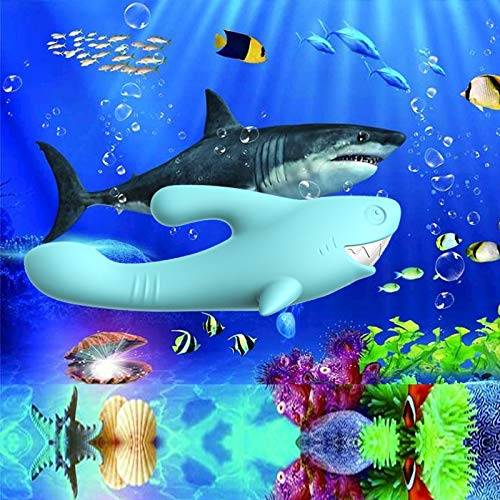 Shark Vibrator Thrusting Expanding Charging AV Massaging Wand - Adult Toys