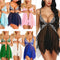 Sexy Lingerie Sleepwear Erotic Womens V Neck Lace Babydoll - Adult Toys