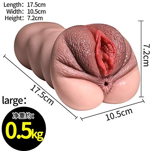 Pocket Pussy Male Sex Toy Anus Pussy For Masturbation - Adult Toys