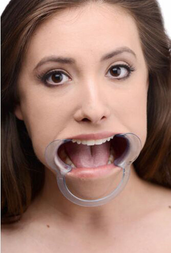 Open Mouth Gag Fetish Slave Ring - Adult Toys