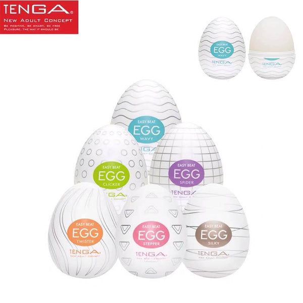 Tenga Eggs Sex Toy Deep Throat Masturbator - Adult Toys