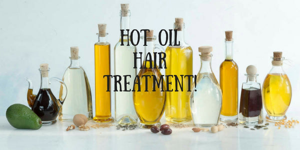 How to Get Hot Oil Treatment At Home!