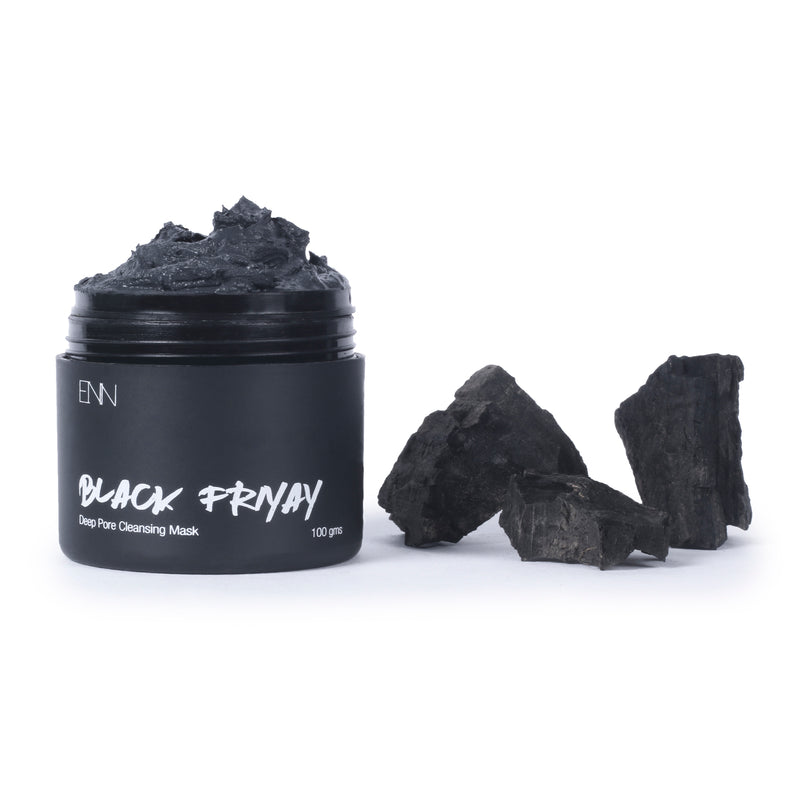 Black Friyay Activated Charcoal Face Mask