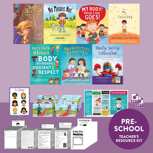 Body Safety Education Preschool Teacher's Resource Kit