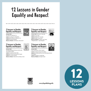 Lesson Plans for Value BUNDLES: Gender Equality & Respect
