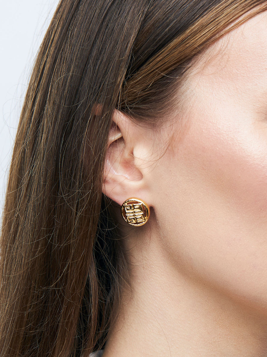 GIVENCHY Clip on Stud Earrings