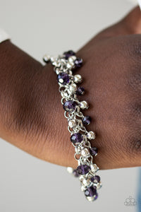 Just For The Fund Of It Bracelet - Purple and Silver