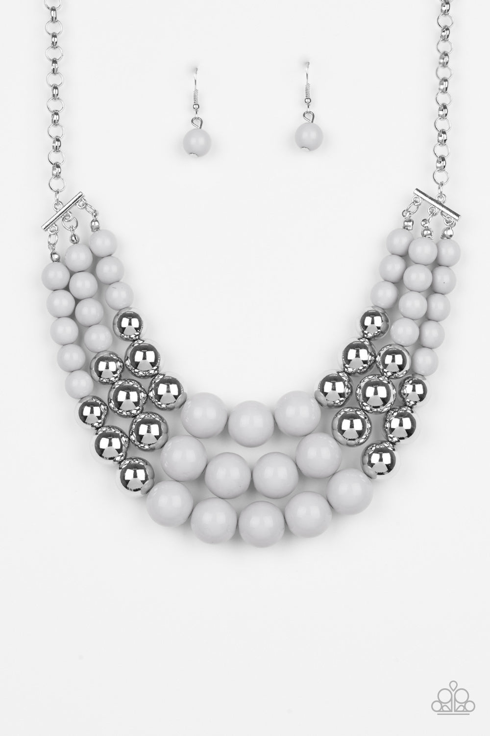 Dream Pop Necklace - Silver