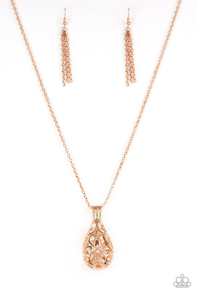 Magic Potion Necklace - Rose Gold