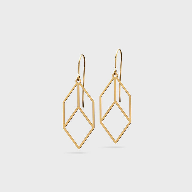 Cubica | brass gold plated