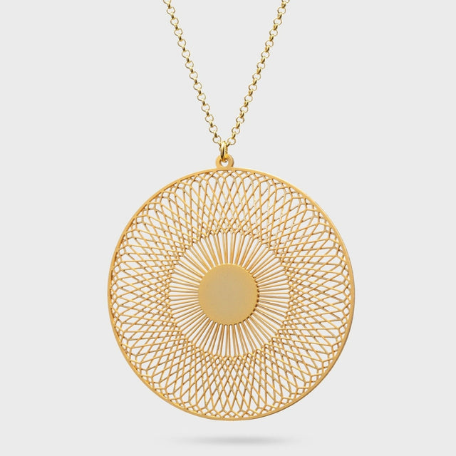 RADIALEM medium | brass gold plated