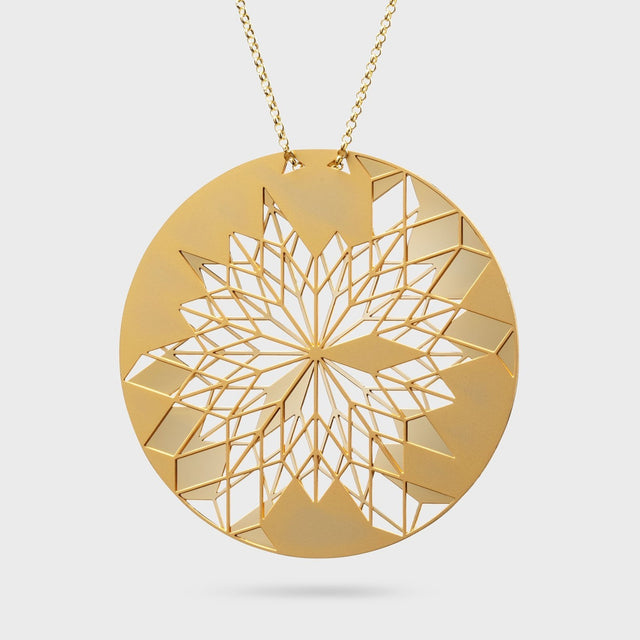 DREAMCATCHER BIG | brass gold plated