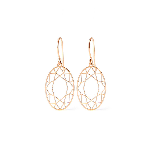 DIAMANTCUT oval | rose-bronze