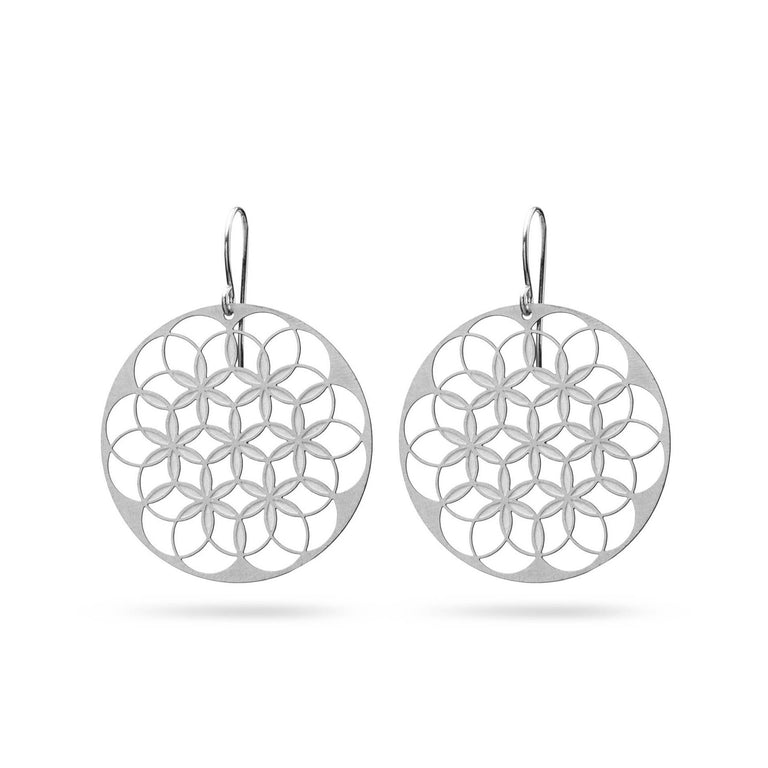 FLOWER OF LIFE V1 | LEBENSBLUME | stainless steel