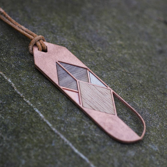 CARAGANA | copper with wood inlays
