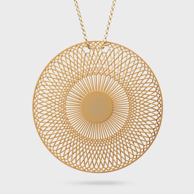 RADIALEM big | brass gold plated