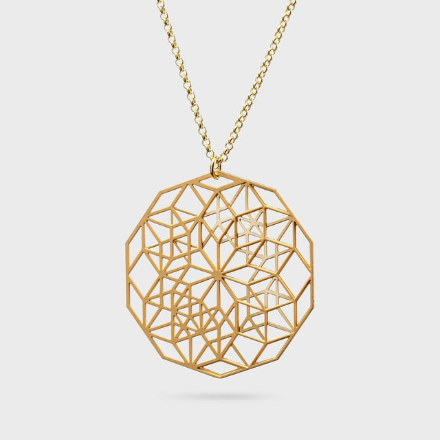 Hidden Signet | brass gold plated