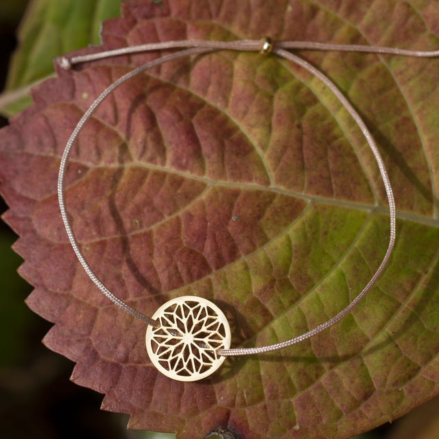 MANDALA little | rose-bronze - Ausgefallener Designerschmuck, bracelets/Armbänder, earrings/Ohrringe, necklaces/Ketten
