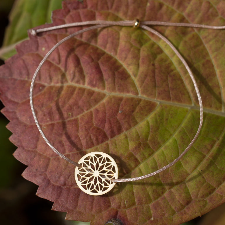 MANDALA little | gold-bronze - Ausgefallener Designerschmuck, bracelets/Armbänder, earrings/Ohrringe, necklaces/Ketten
