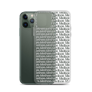 No Mediocre iPhone Case - Midnight Green