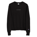 Load image into Gallery viewer, Current Situation Stitched Champion Sweatshirt