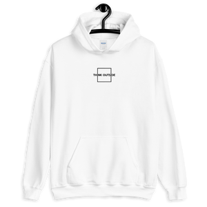 Think Outside The Box Stitched Hoodie