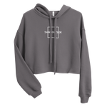 Load image into Gallery viewer, Think Outside The Box Crop Hoodie