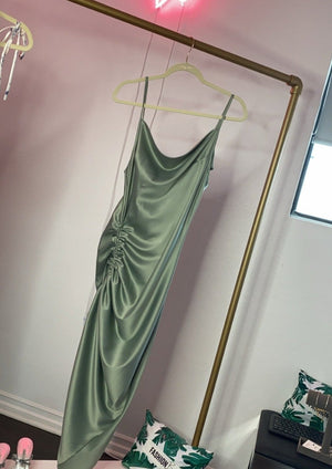 Adjustable Silky Sage Maxi