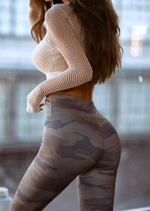 Z High Rise Camo Legging