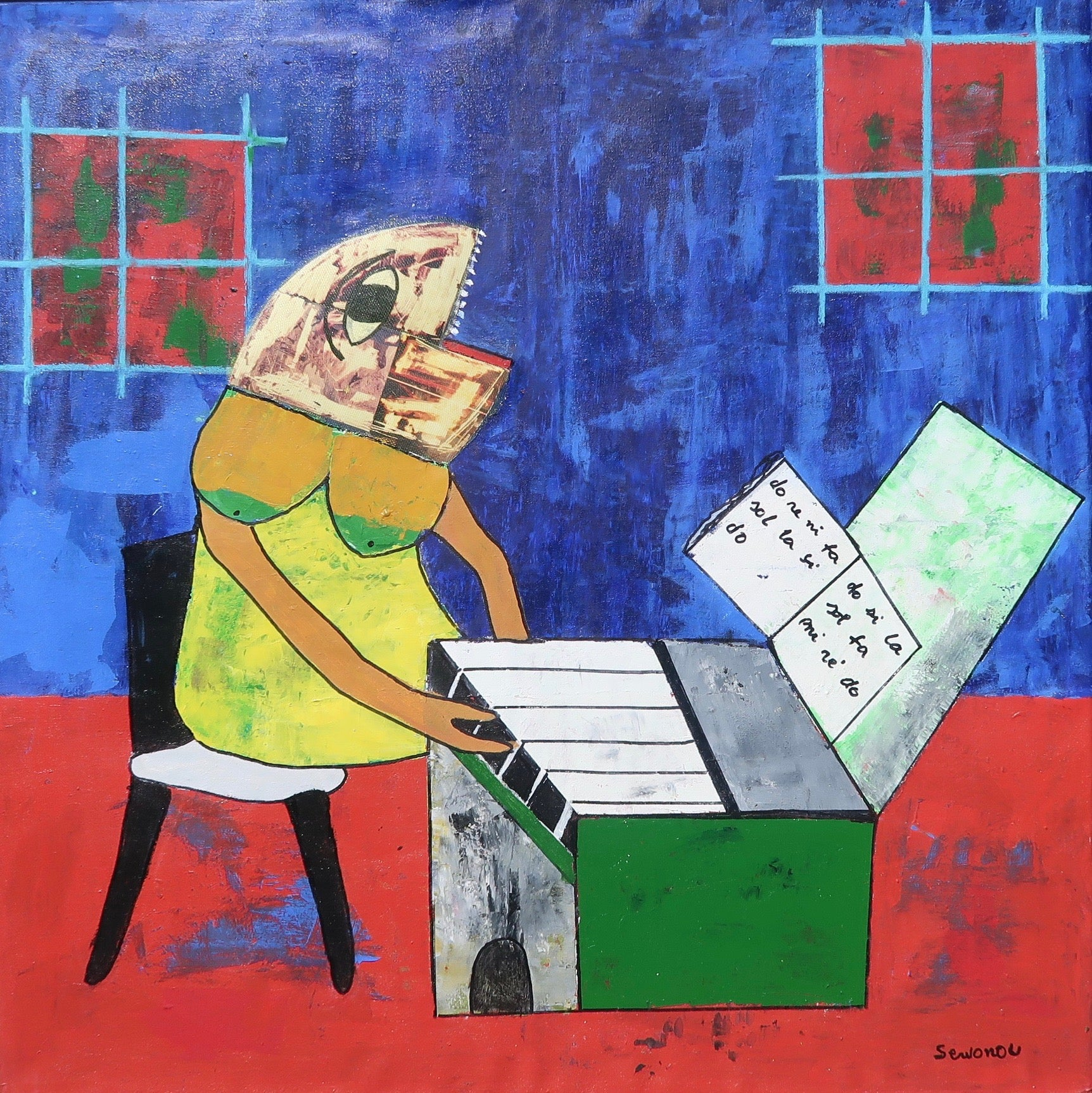 La Fille Au Piano (The Girl At The Piano)