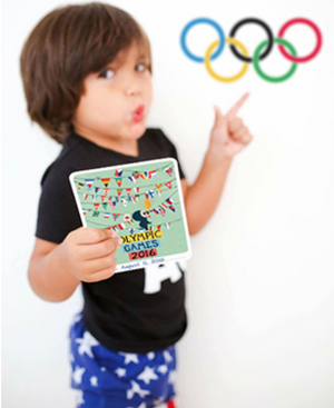Olympic Fever - Download your free Milestone printable