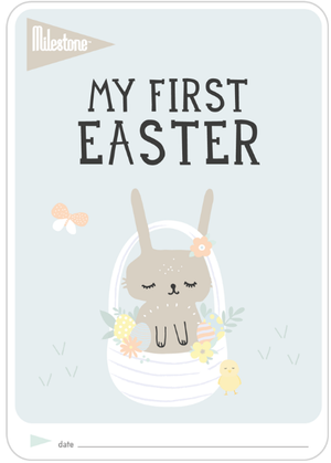 Easter - Free printable Milestone Card